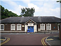 SJ8588 : Cheadle Village Hall, Brook Road by Robin Stott