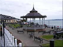 W7966 : Bandstand, Kennedy Park,Westbourne Place, Cobh by Mac McCarron