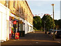 SZ0796 : Northbourne: patriotic convenience store by Chris Downer