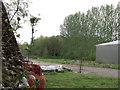 TQ7942 : Wasteland near Iden Croft Herb Centre, Staplehurst by nick macneill