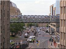 NT2574 : Walkway over Leith Street by David Dixon