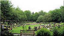 SJ8959 : Biddulph Town Cemetery by Jonathan Kington