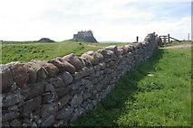 NU1341 : Lindisfarne Castle by Stephen McKay