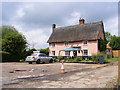 TM2266 : The Crown Public House, Bedfield by Adrian Cable