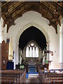 TM2368 : The interior of St.Marys Church, Worlingworth by Adrian Cable
