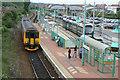 SK5449 : Hucknall Station by Alan Murray-Rust