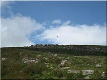 SO2718 : Below the Sugar Loaf summit rocks by don cload