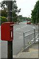 SK5249 : Wood Lane postbox Ref No NG15 13 by Alan Murray-Rust