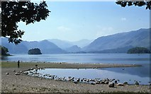 NY2622 : Derwentwater and the Borrowdale Valley by Derek Voller