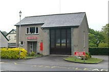 SD3097 : Coniston fire station by Kevin Hale