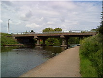 SK5537 : Bridge over the Beeston Canal by Andrew Abbott