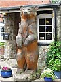 SJ3333 : The Bear at the 'Naughty Jack' in Hindford by Linnet