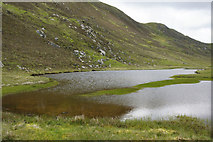 HP5708 : North end of the Loch of Bogligarths by Mike Pennington