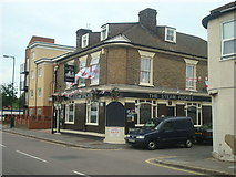 TQ7369 : The Steam Packet public house, Strood by Stacey Harris