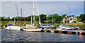 C8334 : Seaton's marina, River Bann near Coleraine by Albert Bridge