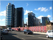 SJ8499 : Cheetham Hill Road Manchester by Rod Allday