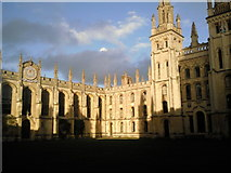 SP5106 : The North Quadrangle of All Souls College, Oxford by Marathon