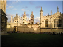 SP5106 : All Souls College, Oxford by Marathon