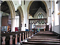 TF8807 : St Andrew's church in Holme Hale - view east by Evelyn Simak