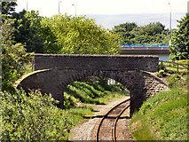 SD9311 : Railway towards Milnrow by David Dixon