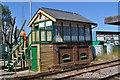 TL7286 : Lakenheath Signal Box by Ashley Dace