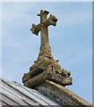 TF6211 : St Peter & St Paul, Watlington, Norfolk - Roof cross by John Salmon