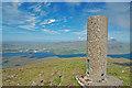 NG5140 : Beinn Tianabhaig trig point by John Allan