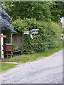TM3872 : Roadsign on Yoxford Road by Adrian Cable