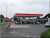 SJ9220 : Esso filling station off A449 by Alex McGregor