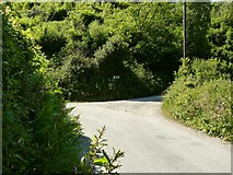 SS4939 : A footpath which leads from Nethercott Road to North Buckland Hill, near Heddon Mill by Roger A Smith