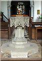 TF6918 : All Saints, Ashwicken, Norfolk - Font by John Salmon