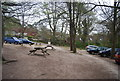 TV5199 : Car park, Seven Sisters Country Park by N Chadwick