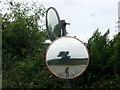 SM9733 : Roadside traffic mirrors by ceridwen