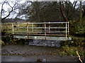 NY7789 : Footbridge over a tributary of the Tarset Burn by Neil Owen