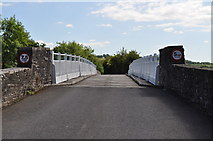 SO2547 : Looking across the toll bridge at Whitney-on-Wye by Nick Mutton