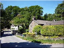 NY3204 : Cottages, Elterwater village by Karl and Ali
