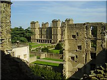 SK4663 : Hardwick Hall from Hardwick Old Hall by Ashley Dace