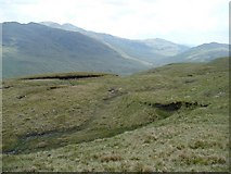 NN2322 : South side of Meall nan Tighearn by Andrew Spenceley