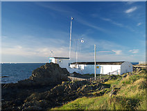 J5182 : Battery, Royal Ulster Yacht Club, Bangor by Rossographer