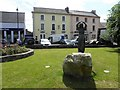 """C2502 : """"Earth Mother"""" sculpture, Raphoe by Kenneth  Allen"""