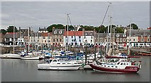 NO5603 : Anstruther from the Harbour by Anne Burgess