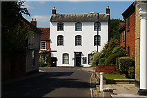 SU3521 : Church Street, Romsey, Hampshire by Peter Trimming