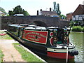 SU3368 : Rose of Hungerford Narrow boat by Paul Gillett