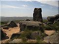 SD9717 : The Aiggin Stone, Blackstone Edge by michael ely