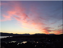 NS2072 : Sunset over Kip Marina by Thomas Nugent
