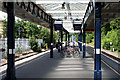 TQ4066 : Hayes, Kent:  Station platforms by Dr Neil Clifton