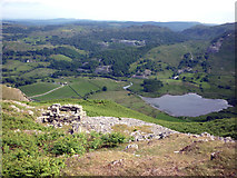 NY3004 : Ruined building, Lingmoor Fell by Karl and Ali