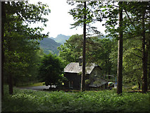 NY3204 : House in the woods, Elterwater by Karl and Ali