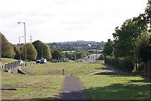 SK2202 : A path located along Marlborough Way  (1) by Chris' Buet