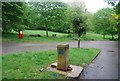 TQ3170 : Non functioning drinking fountain, Streatham Common by N Chadwick
